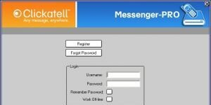 Clickatell Messenger Pro Ekran G�r�nt�s�