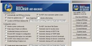 Comodo BOClean Anti-Malware Ekran Görüntüsü