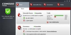 Comodo Personal Firewall Ekran G�r�nt�s�