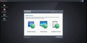 Comodo Rescue Disk Ekran Görüntüsü