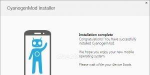 CyanogenMod Installer Ekran G�r�nt�s�