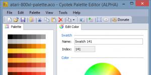 Cyotek Color Palette Editor Ekran Görüntüsü