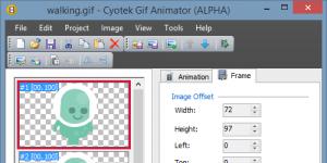 Cyotek Gif Animator Ekran Görüntüsü