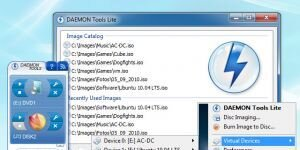 DAEMON Tools Lite Ekran Grnts