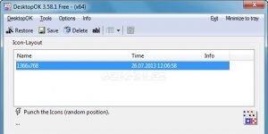 DesktopOK Ekran Görüntüsü