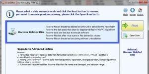 DiskGetor Data Recovery Free Ekran Görüntüsü