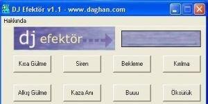 DJ Efektör Ekran Görüntüsü