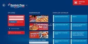 Domino's Pizza T�rkiye Ekran G�r�nt�s�