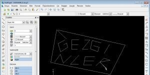 DraftSight Ekran Görüntüsü