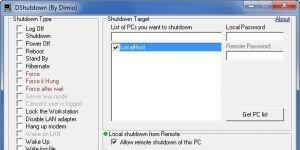 DShutdown Ekran G�r�nt�s�