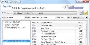DVD Audio Extractor Ekran G�r�nt�s�