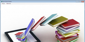 E-book-Epub Reader Ekran Görüntüsü