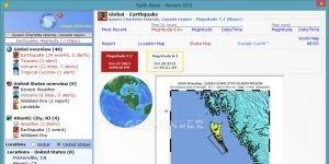 Earth Alerts Ekran Görüntüsü
