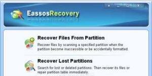 Eassos Recovery Free Ekran Görüntüsü