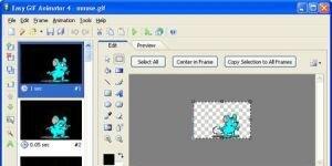 Easy Gif Animator Ekran G�r�nt�s�