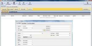EBS Depo Stok Üretim Ekran Görüntüsü