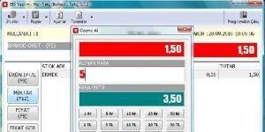 EBS Hızlı Satış & Kasa Ekran Görüntüsü
