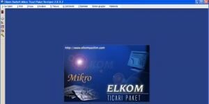 ELKOM EkoSoft Mikro Ticari �n Muhasebe Paketi Ekran G�r�nt�s�