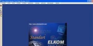 ELKOM EkoSoft Standart Ticari Ön Muhasebe Paketi Standart Ekran Görüntüsü