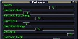 Enhancer Winamp Plugin Ekran Görüntüsü