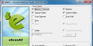 eScanAV Anti-Virus Toolkit Ekran Görüntüsü