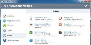 ESET NOD32 Antivirus Ekran G�r�nt�s�