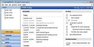 EssentialPIM Free Ekran Görüntüsü
