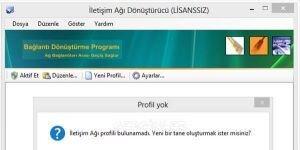 ETurkSoft Ba�lant� D�n��t�rme Program� Ekran G�r�nt�s�
