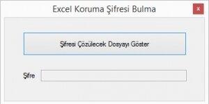 Excel Koruma Kald�rma Ekran G�r�nt�s�
