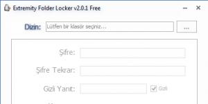 Extremity Folder Lock Free Ekran Görüntüsü