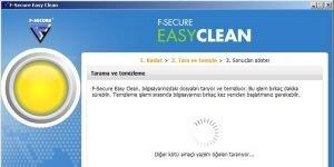 F-Secure Easy Clean Ekran G�r�nt�s�