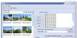 FastStone Photo Resizer Ekran Görüntüsü