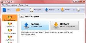 FBackup Ekran G�r�nt�s�