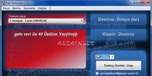 Files Terminator Free Ekran G�r�nt�s�