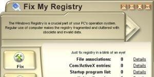 Fix My Registry Ekran Görüntüsü