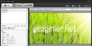 Flash Banner Maker Ekran G�r�nt�s�