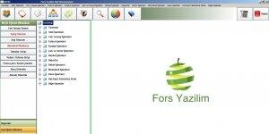 ForsVeg Hal Programi Ekran Görüntüsü