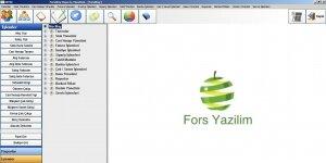ForsWay Depo İş Yönetimi Programı Ekran Görüntüsü