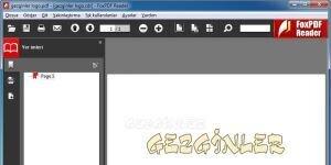 FoxPDF Reader Ekran Görüntüsü