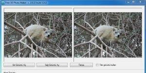 Free 3D Photo Maker Ekran G�r�nt�s�