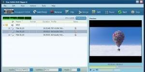 Free CUDA DVD Ripper Ekran Görüntüsü