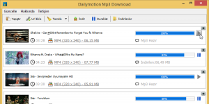Free Dailymotion Mp3 Downloader Ekran Görüntüsü