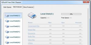 Free Disk Cleaner Ekran Görüntüsü