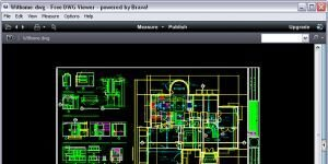 Free DWG Viewer Ekran G�r�nt�s�