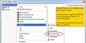 Free File Wiper Ekran Görüntüsü