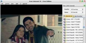 Free Internet TV Ekran Görüntüsü