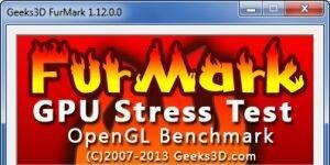 FurMark Ekran Görüntüsü