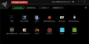 Game Booster Ekran G�r�nt�s�