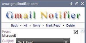 Gmail Notifier Ekran G�r�nt�s�