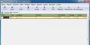 GnuCash Ekran Görüntüsü